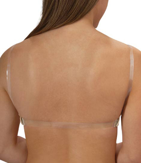 34D Beige Strapless Lined Transparent Invisible Multiway Clear ...